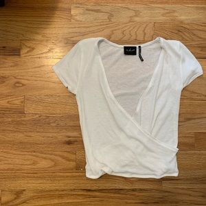 NWOT Urban Outfitters White V-neck Top